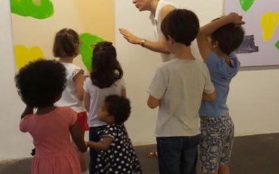 Activités artistiques en français par Géraldine Guyon des P'tits Explorateurs d'Art